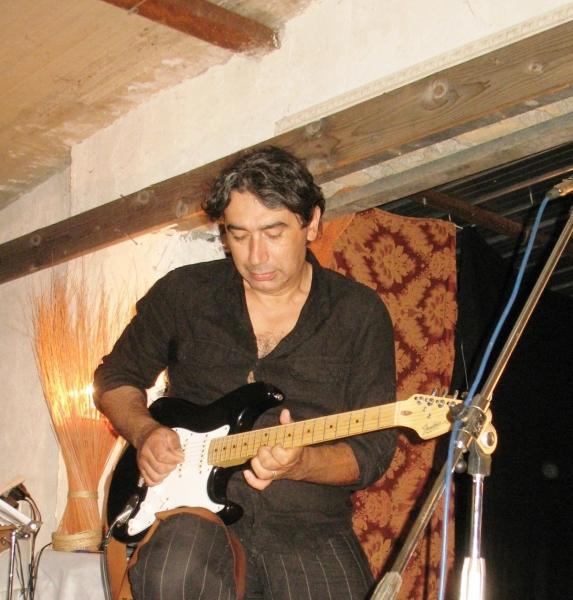 Il musicista Alfredo Scogna