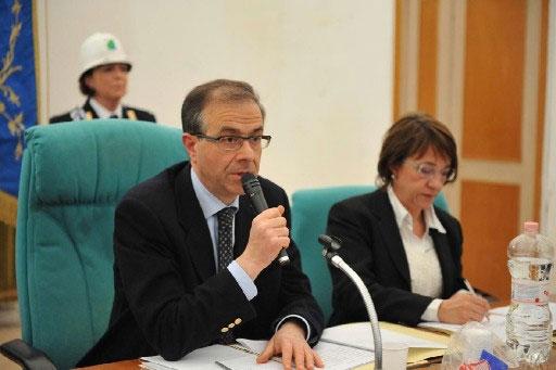 Il Sindaco Dott. Sandro Salvi (foto f.b.)