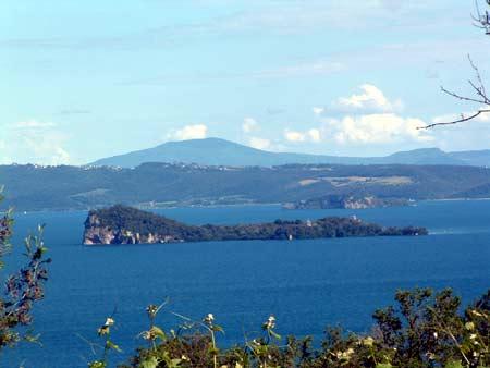 Veduta del Lago di Bolsena