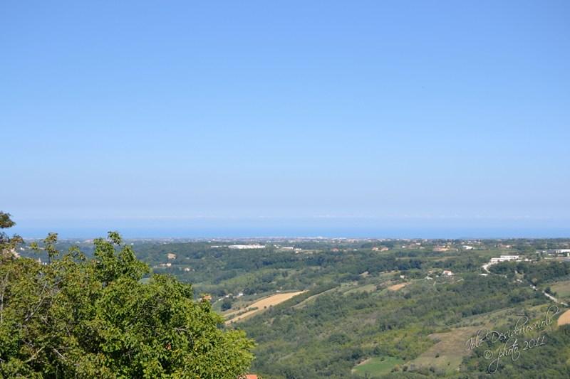 Panorama da via Orientale