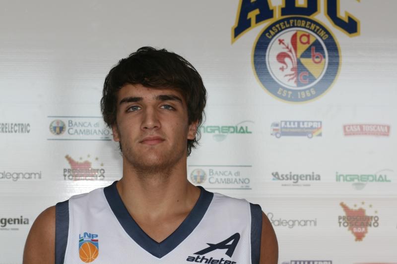 Il giovane Rino De Laurentiis (foto Lega Nazionale Pallacanestro)