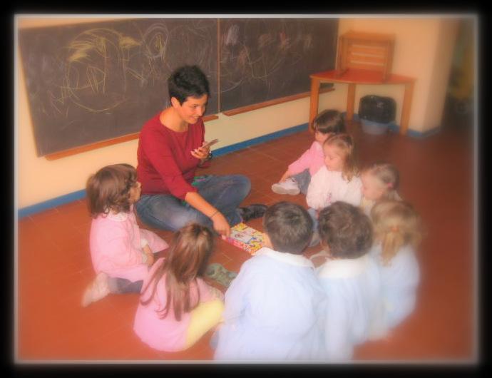 Amanda e i suoi piccoli allievi