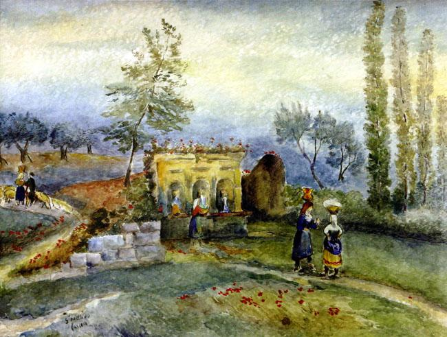 Gioacchino Cascella, La fonte di Guardiagrele